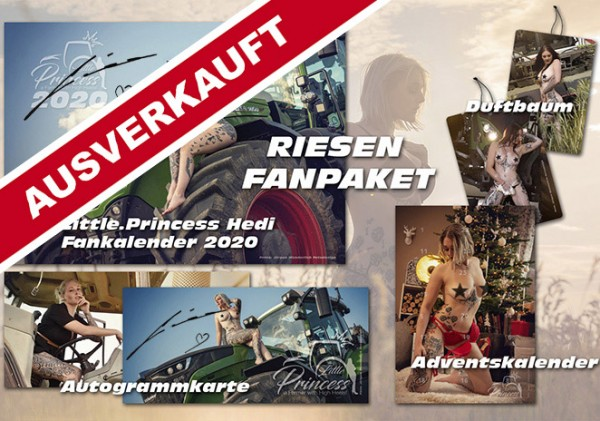 LittlePrincess Hedi großes FAN Paket