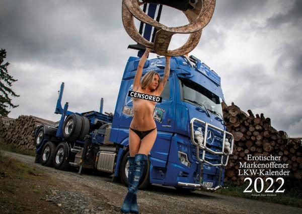 Erotischer Markenoffener LKW Kalender 2022