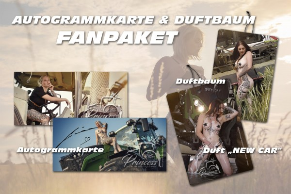 LittlePrincess Hedi Autogrammkarte und Duftbaum Bundle