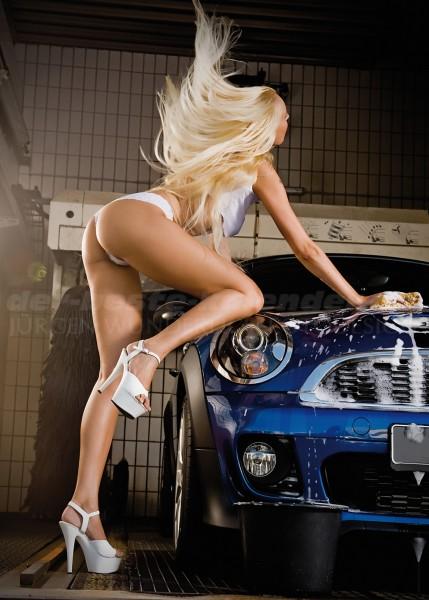 Erotik Carwash Poster 70x100 cm