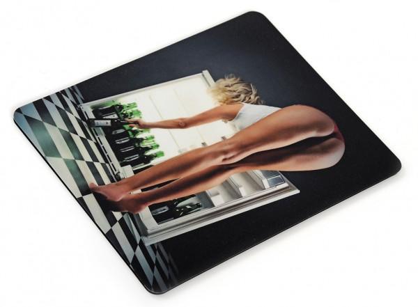 Erotisches Bier / Beer Motiv als Mousepad Special Remake ohne
