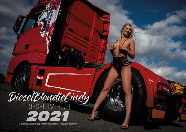 DieselBlondie Cindy Fankalender 2021