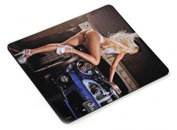 Erotisches Carwash Motiv als Mousepad