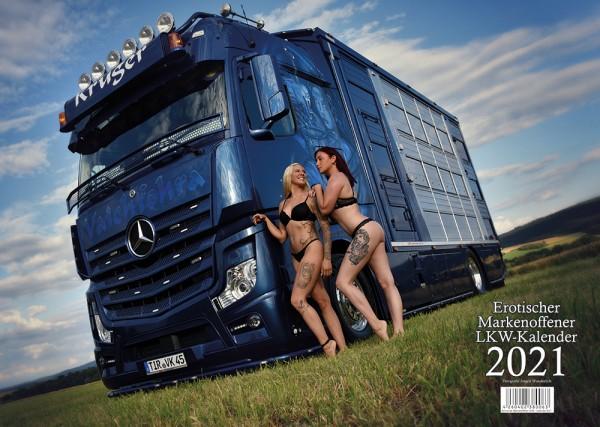 Erotischer Markenoffener LKW Kalender 2021