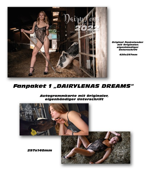 Fanpaket I Dairylenas Dreams 2022