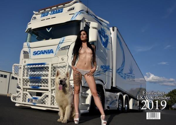 Erotischer Scania LKW Kalender 2019