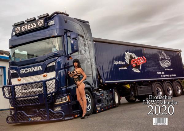 Erotischer Scania LKW Kalender 2020