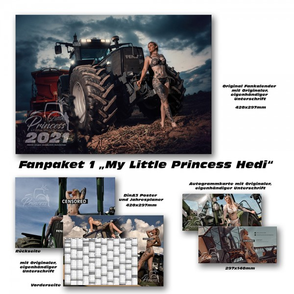 Fanpaket 1 LittlePrincess Hedi 2021 limitiert !