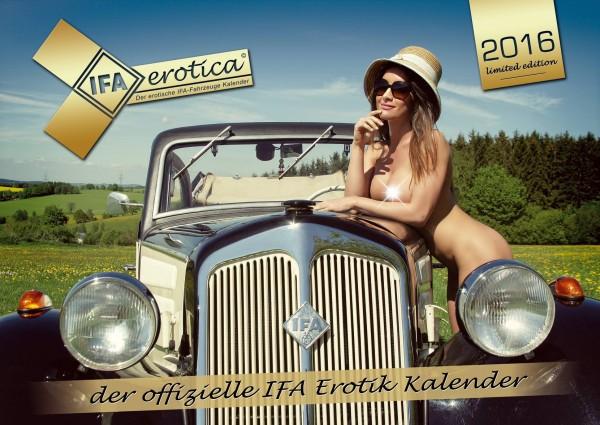 Erotischer IFA Fahrzeug Kalender 2016