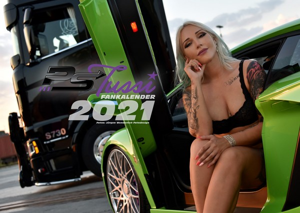 Truckerbabe PS Tussi Sabrina Fankalender 2021 - Limitiert!
