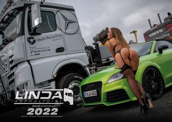 Linda Asphaltgirl Fankalender 2022