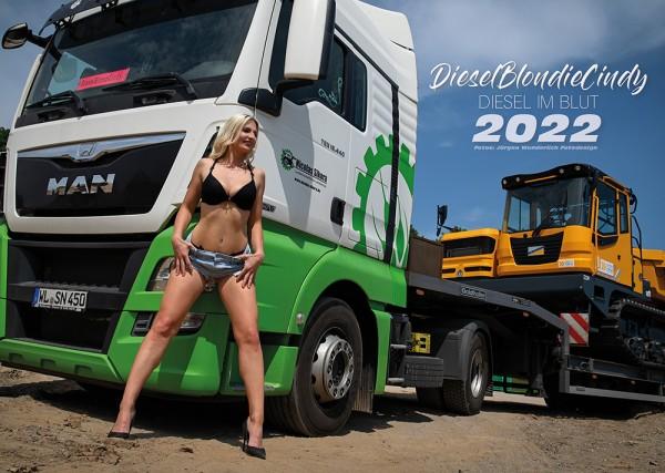 DieselBlondie Cindy Fankalender 2022