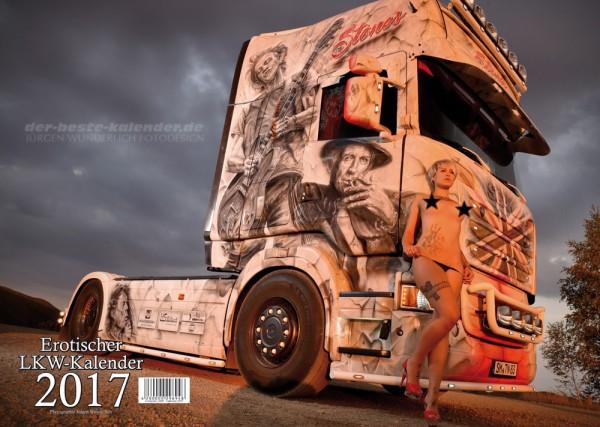 Erotischer Scania LKW Kalender 2017