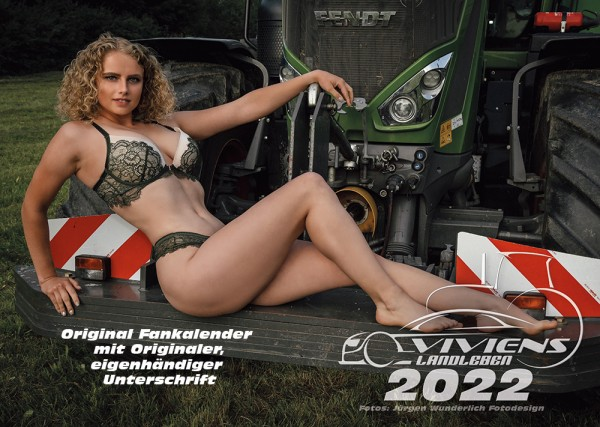 "Vivien Fankalender 2022 ""inkl. Unterschrift"""